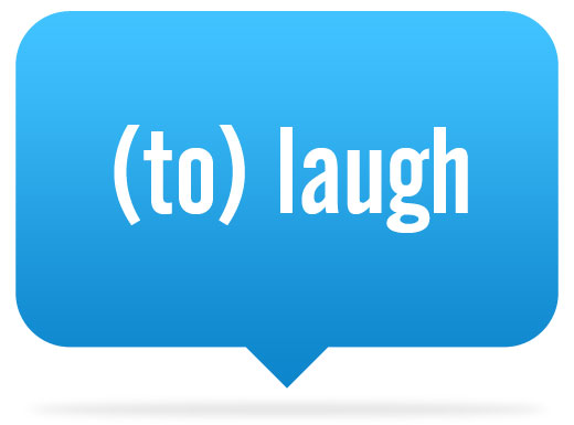Learn to say to laugh in different languages