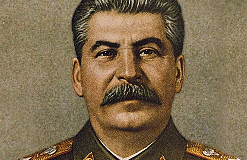 Painting of Joseph Stalin