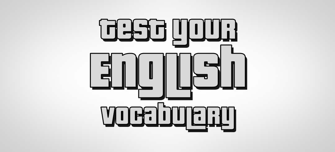 Test your English vocabulary logo